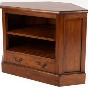 Ancient Mariner Mahogany Village Corner TV Unit