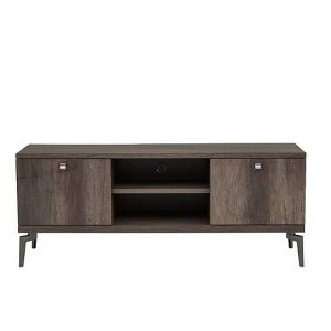Soprano TV Unit - Brown - By Furniture Village