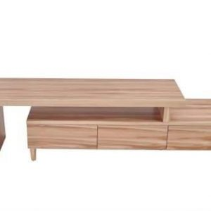 Ulrica Extendable Entertainment TV Unit - Naked Cypress