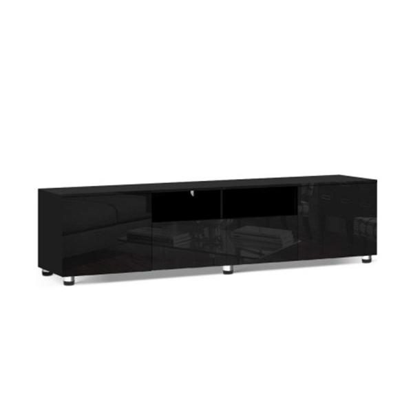 Tv Cabinet Entertainment Unit Stand High Gloss Furniture 205 Cm